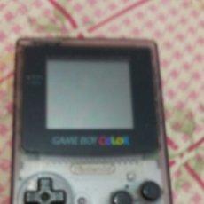 Videojuegos y Consolas: GAME BOY COLOR TRANSPARENTE. Lote 221729068