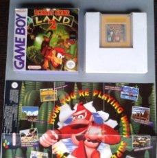Videojuegos y Consolas: NINTENDO GAMEBOY DONKEY KONG LAND 2 INCLUYE CAJA Y POSTER BOXED CIB PAL R11533. Lote 222296963