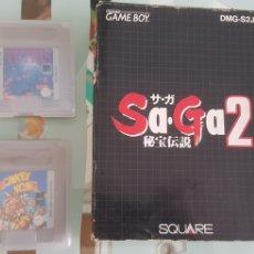 Videojuegos y Consolas: LOTE DE JUEGOS NINTENDO GAME BOY GAMEBOY. Lote 222656803