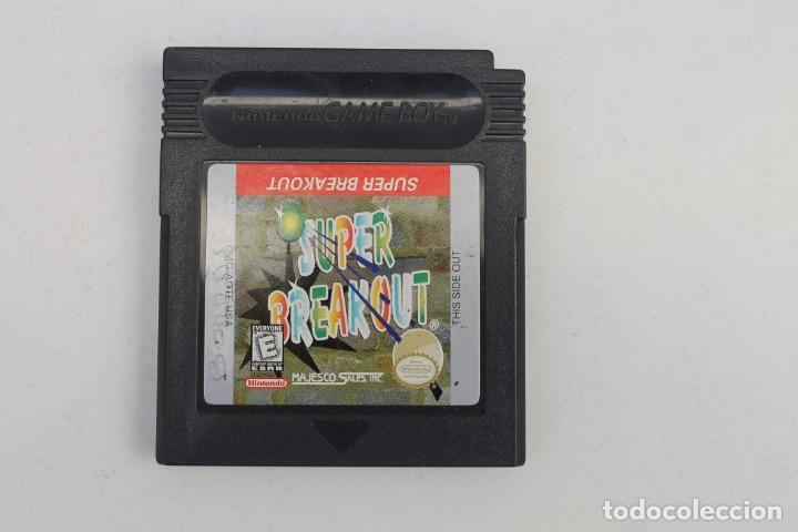 GAME BOY - SUPER BREAKOUT (Juguetes - Videojuegos y Consolas - Nintendo - GameBoy)