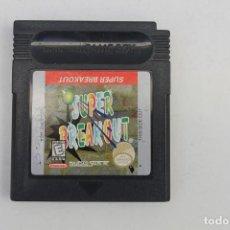 Videojuegos y Consolas: GAME BOY - SUPER BREAKOUT. Lote 223333358