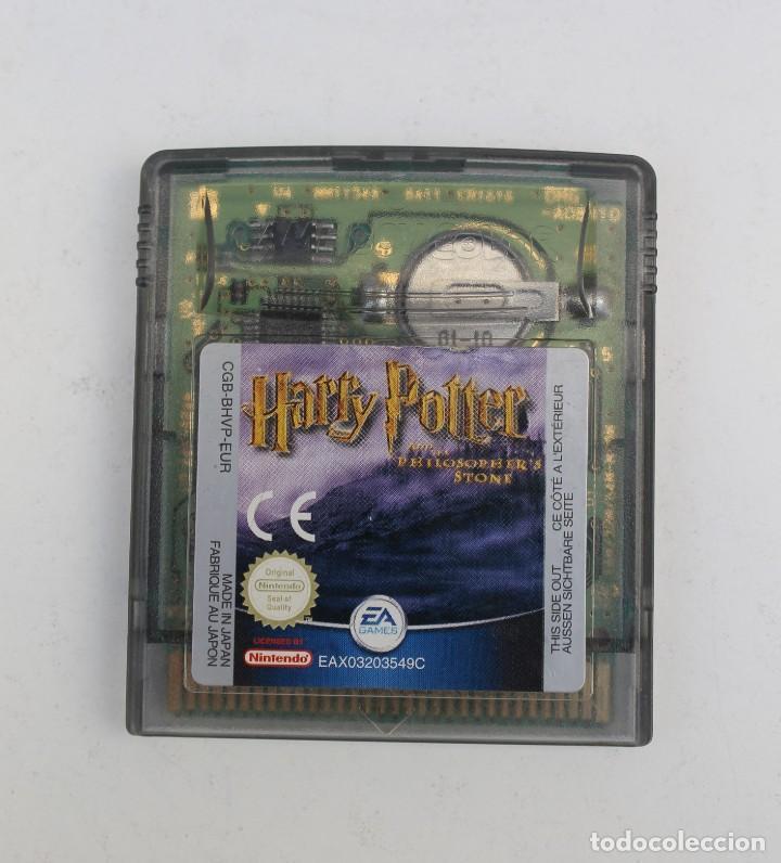 GAME BOY - HARRY POTTER Y LA PIEDRA FILOSOFAL (Juguetes - Videojuegos y Consolas - Nintendo - GameBoy)