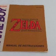 Jeux Vidéo et Consoles: ANTIGUO MANUAL DE CONSOLA NINTENDO GAME BOY ZELDA. Lote 225109480