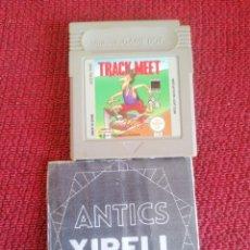 Videojuegos y Consolas: JUEGO GAMEBOY TRACK MEET. ATLETISMO. SIN CAJA.. Lote 225963690