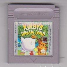 Videojuegos y Consolas: KIRBY'S DREAM LAND KIRBYS JUEGO PARA NINTENDO GAMEBOY CLÁSICA GAME BOY. Lote 228141725