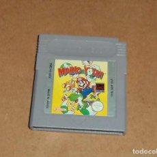 Videojuegos y Consolas: MARIO & YOSHI PARA NINTENDO GAMEBOY / GB, PAL. Lote 228392820