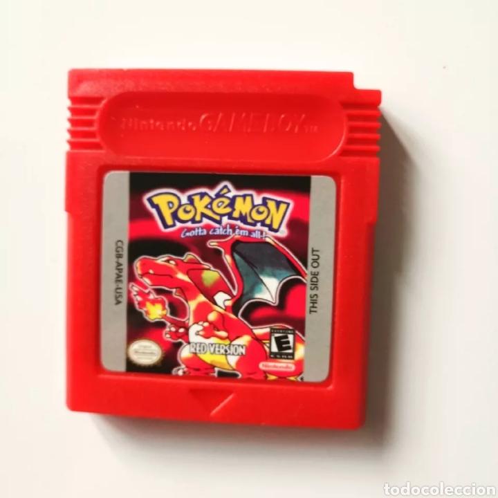 JUEGO POKÉMON ROJO GAME BOY (Juguetes - Videojuegos y Consolas - Nintendo - GameBoy)