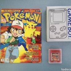 Videojuegos y Consolas: LOTE GAME BOY CLASSIC, REPLICA DE CAJA, POKÉMON ROJO Y GUÍA DEL JUEGO. Lote 232770036