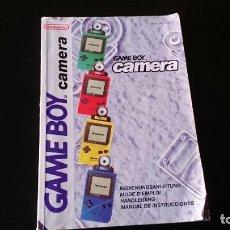 Videojuegos y Consolas: MANUAL DE INSTRUCCIONES DE LA CÁMARA GAME BOY NINTENDO. Lote 232992275