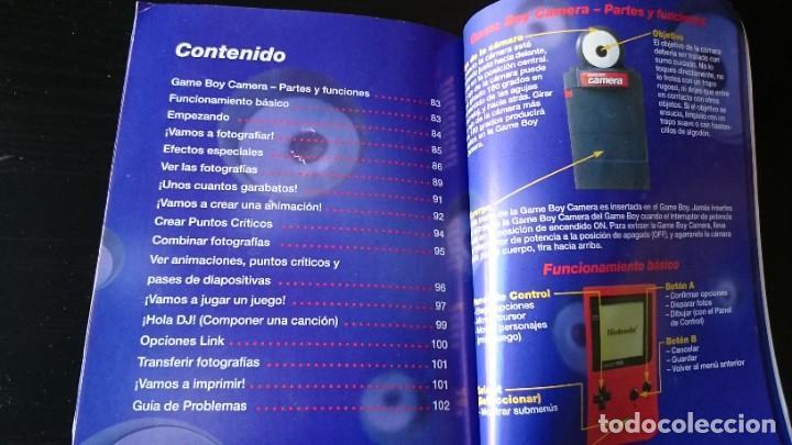 Videojuegos y Consolas: MANUAL DE INSTRUCCIONES DE LA CÁMARA GAME BOY NINTENDO - Foto 2 - 232992275