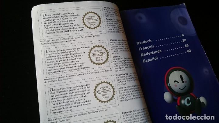 Videojuegos y Consolas: MANUAL DE INSTRUCCIONES DE LA CÁMARA GAME BOY NINTENDO - Foto 4 - 232992275