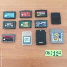 Videojuegos y Consolas: LOTE DE JUEGOS GAME BOY Y NINTENDO. Lote 233156905