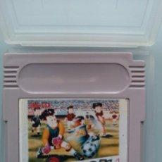 Videojuegos y Consolas: JUEGO COMPATIBLE NINTENDO GAMEBOY SOCCER 1990 INCLUYE FUNDA TRANSPARENTE PARA PRESERVAR CARTUCHO. Lote 233648410
