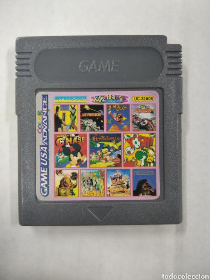 CARTUCHO GAME BOY CLONICO 32 IN 1 (Juguetes - Videojuegos y Consolas - Nintendo - GameBoy)