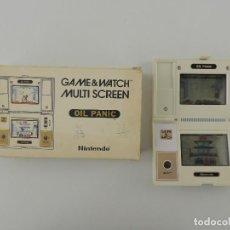 Videojuegos y Consolas: CONSOLA NINTENDO GAME&WATCH MULTI SCREEN OIL PANIC AÑO 1982. Lote 235052390