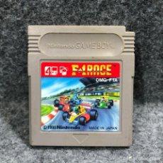 Videojuegos y Consolas: F1 RACE NINTENDO GAME BOY. Lote 235191910