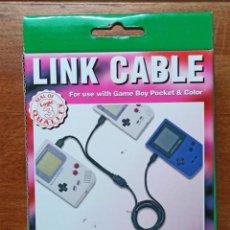 Videojuegos y Consolas: LINK CABLE (CABLE DE CONEXION) PARA USO EN GAME BOY POCKET Y COLOR MODELO GB 505K. Lote 235655420
