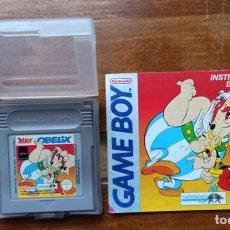 Videojuegos y Consolas: JUEGO PARA GAME BOY ASTERIX Y OBELIX ORIGINAL NINTENDO 1995 CON LIBRO DE INSTRUCCIONES. Lote 235658365