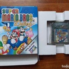 Videojuegos y Consolas: JUEGO PARA GAME BOY COLOR SUPER MARIO BROS. DELUXE NINTENDO ORIGINAL 1999 EN SU CAJA. Lote 235670065