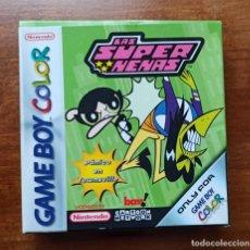 Videojuegos y Consolas: JUEGO PARA GAME BOY COLOR SUPER NENAS PANICO EN TOWNSVILLE NINTENDO ORIGINAL 2001 EN SU CAJA. Lote 235670340
