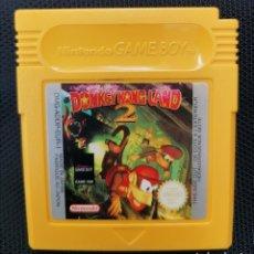 Videojuegos y Consolas: DONKEY KONG LAND 2 ORIGINAL NINTENDO GAME BOY. Lote 235868650