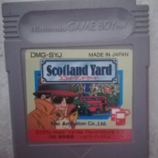 Videojuegos y Consolas: SCOTLAND YARD ORIGINAL NINTENDO GAME BOY. Lote 235868810
