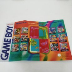 Videojuegos y Consolas: POSTER GAME BOY DE NINTENDO. Lote 237130785