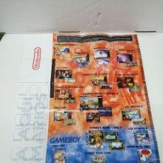 Videojuegos y Consolas: GRAN POSTER NINTENDO GAME BOY. Lote 237134310