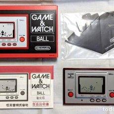 Videojuegos y Consolas: BALLL GAME AND WATCH NINTENDO ENGLISH. Lote 241332830