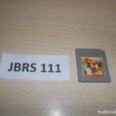 Videojuegos y Consolas: GAMEBOY - MICKEY DANGEROUS GAME , PAL ESPAÑOL , SOLO CARTUCHO. Lote 241788170