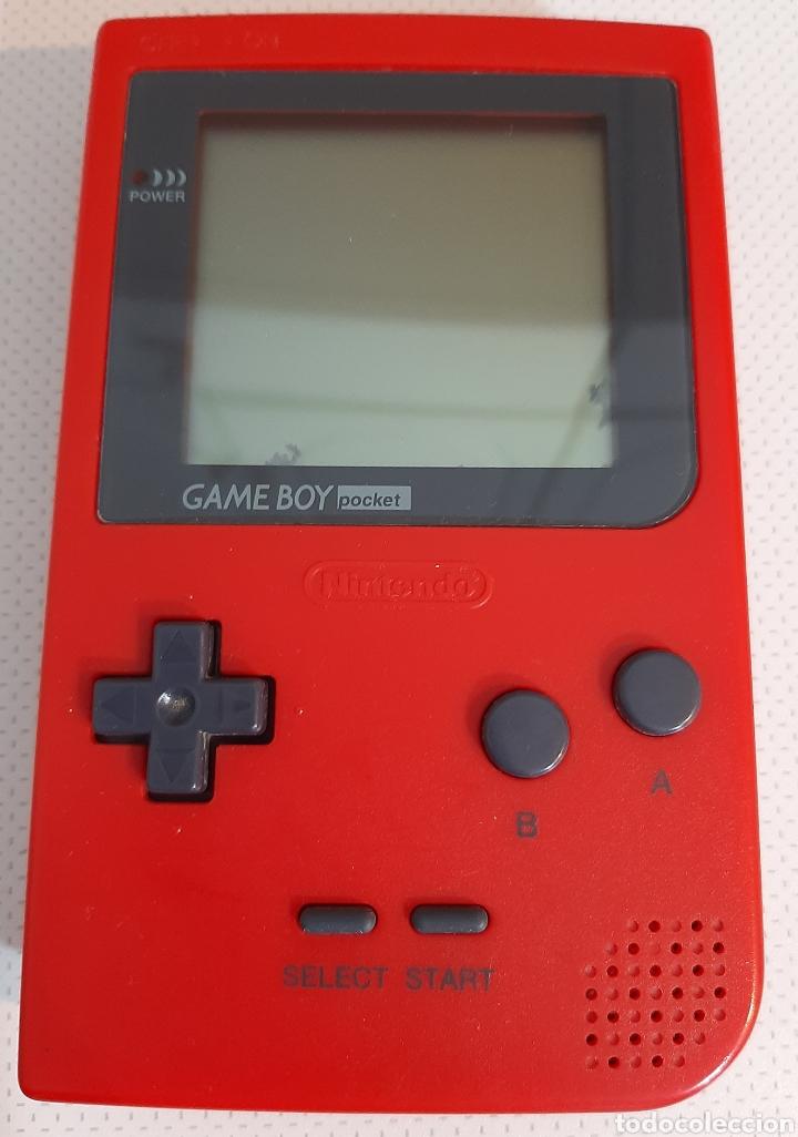 NINTENDO GAMEBOY POCKET (Juguetes - Videojuegos y Consolas - Nintendo - GameBoy)