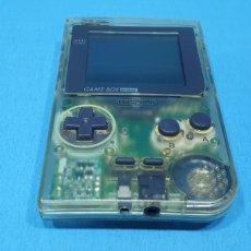 Videojuegos y Consolas: VIDEOCONSOLA TRANSPARENTE - GAME BOY POCKET - NINTENDO. Lote 242085105