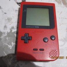 Videojuegos y Consolas: GAMEBOY POCKET GAME BOY ROJA. Lote 242224995