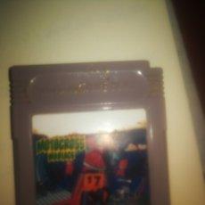 Videojuegos y Consolas: JUEGO GAME BOY MOTOCROSS MANIACS. Lote 242380620