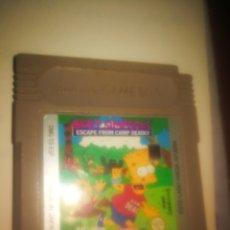 Videojuegos y Consolas: JUEGO GAME BOY BAT SIMPSON. Lote 242381995