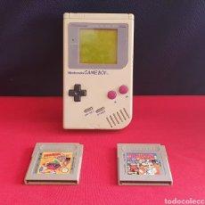 Videojuegos y Consolas: CONSOLA NINTENDO GAME BOY CON DOS JUEGOS NO FUNCIONA. Lote 243240230