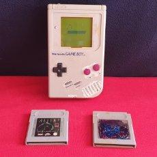 Videojuegos y Consolas: NINTENDO GAME BOY CON 2 JUEGOS SIN TAPA. Lote 243595305
