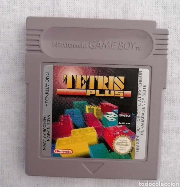 TETRIS PLUS ORIGINAL NINTENDO GAME BOY - CLASICA COLOR ADVANCE (Juguetes - Videojuegos y Consolas - Nintendo - GameBoy)