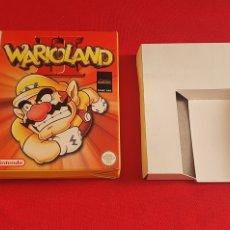 Videojuegos y Consolas: CAJA GAME BOY VACIA DEL JUEGO WARIOLAND. Lote 243980310