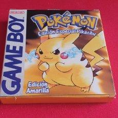 Videojuegos y Consolas: CAJA GAME BOY DEL JUEGO POKEMON EDICION SPECIAL PIKACHU. Lote 243981540