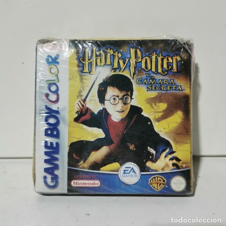 HARRY POTTER Y LA CÁMARA SECRETA - GAME BOY COLOR - NINTENDO - JUEGO PRECINTADO (Juguetes - Videojuegos y Consolas - Nintendo - GameBoy)