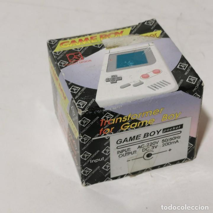 GAME BOY TRANSFORMER - TRANSFORMADOR 220V PARA CONSOLA GABE BOY - NUEVO EN CAJA (Juguetes - Videojuegos y Consolas - Nintendo - GameBoy)