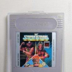 Videojuegos y Consolas: JUEGO PARA CONSOLA NINTENDO GAMEBOY GAME BOY-- WF SUPER STARS. Lote 244736965