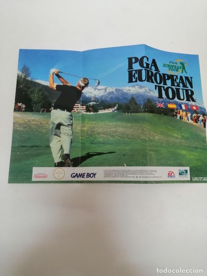 Videojuegos y Consolas: POSTER JUEGO GAME BOY PGA GOLF - Foto 3 - 244841740
