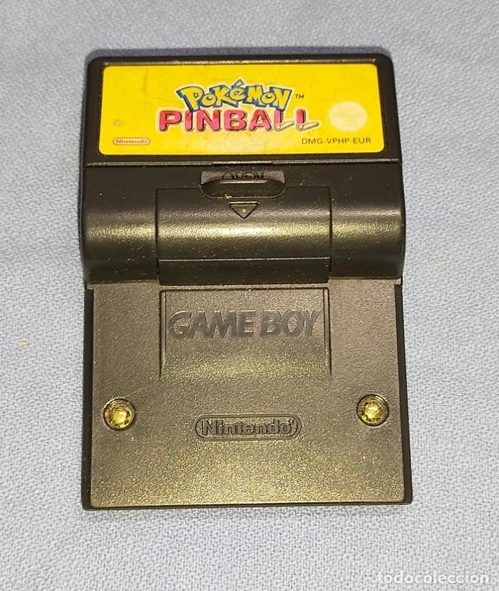 JUEGO POKEMON PINBALL GAME BOY DE NINTENDO (Juguetes - Videojuegos y Consolas - Nintendo - GameBoy)