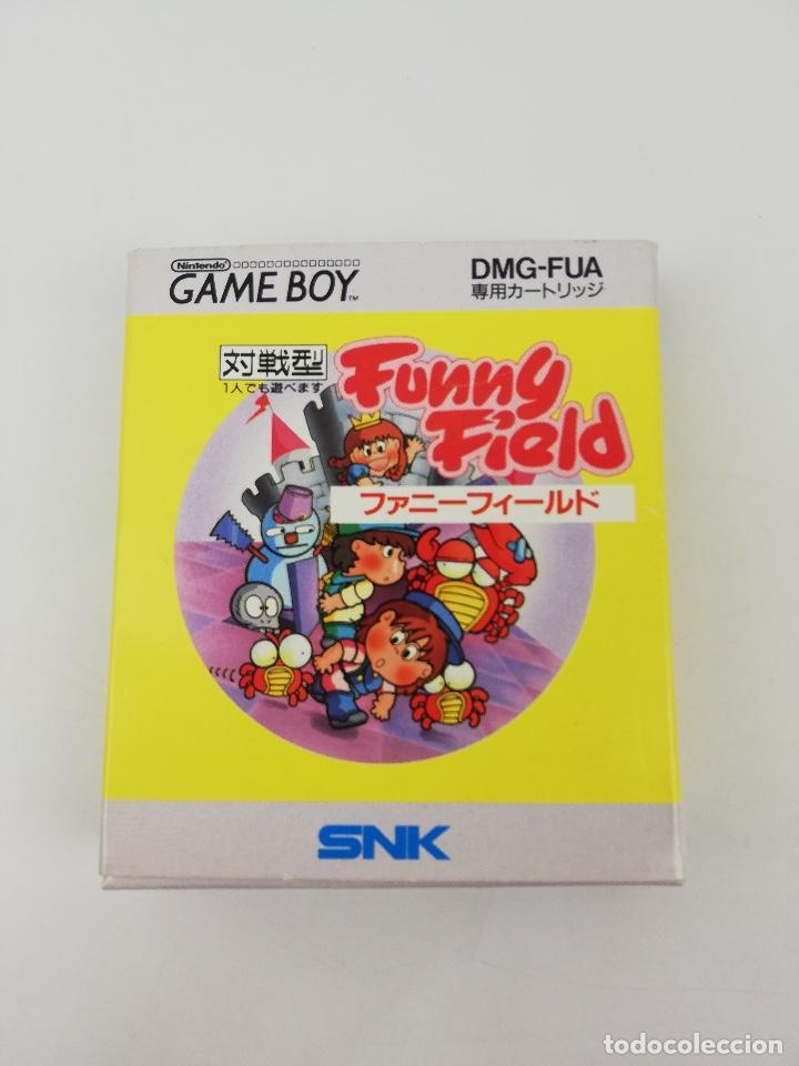 FUNNY FIELD GAME BOY NINTENDO CAJA (Juguetes - Videojuegos y Consolas - Nintendo - GameBoy)