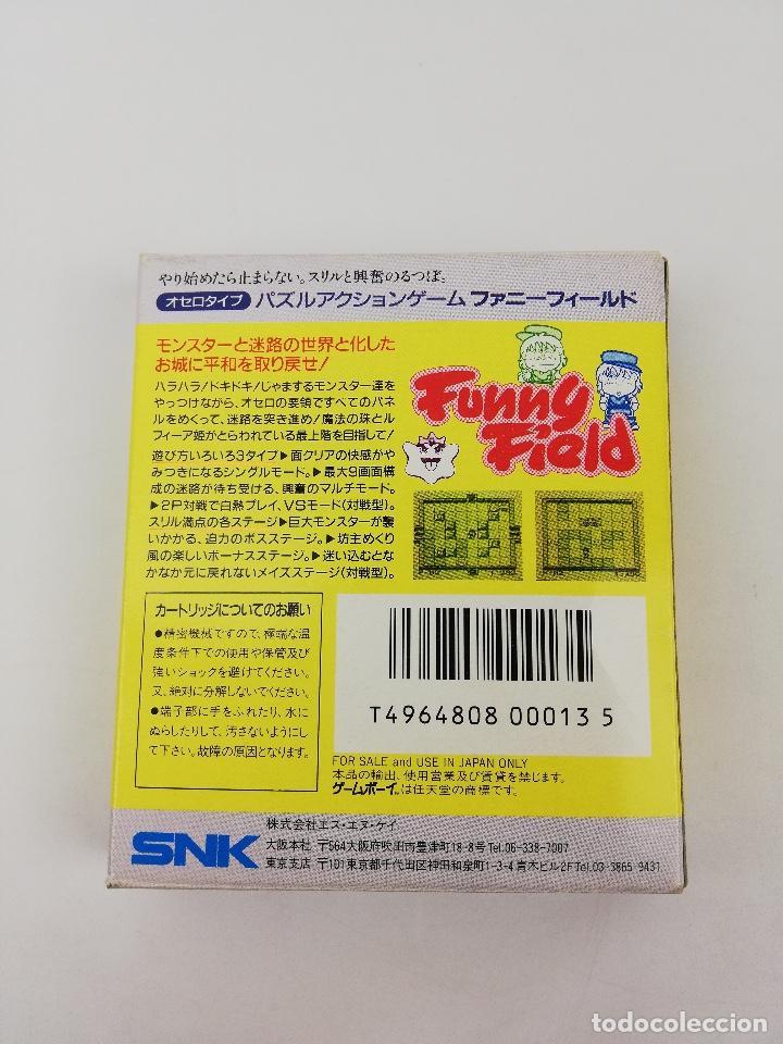 Videojuegos y Consolas: FUNNY FIELD GAME BOY NINTENDO CAJA - Foto 2 - 245455880