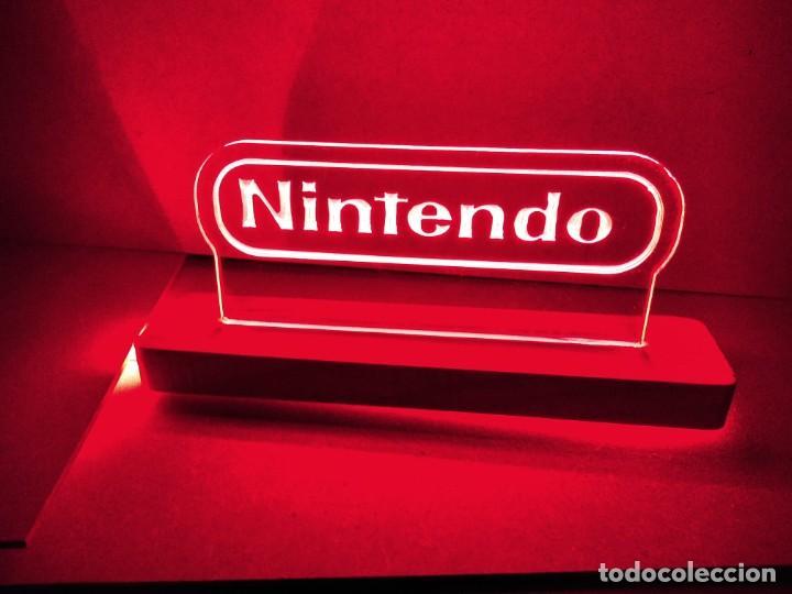 LÁMPARA LUMINOSA NINTENDO ESTILO NEON LED (Juguetes - Videojuegos y Consolas - Nintendo - GameBoy)
