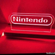 Videojuegos y Consolas: LÁMPARA LUMINOSA NINTENDO ESTILO NEON LED. Lote 245575125
