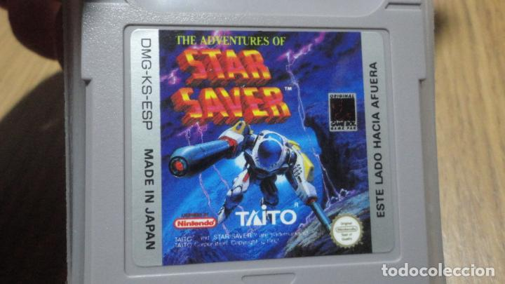 THE ADVENTURES OF STAR SAVER.TAITO.GAMEBOY NINTENDO.MADE IN JAPAN. (Juguetes - Videojuegos y Consolas - Nintendo - GameBoy)